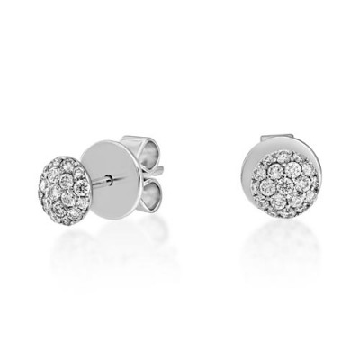 18Ct. Gold Diamond  Earrings