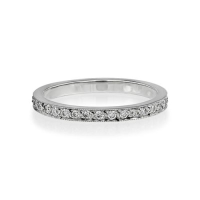 0.35ct. diamond ring set with diamond in full eternity ring smallest Image
