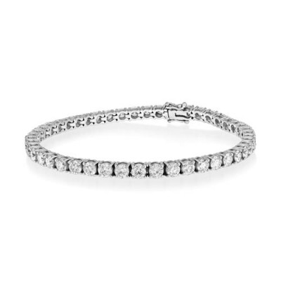 16.75ct. diamond bracelet set with diamond in tennis bracelet smallest Image