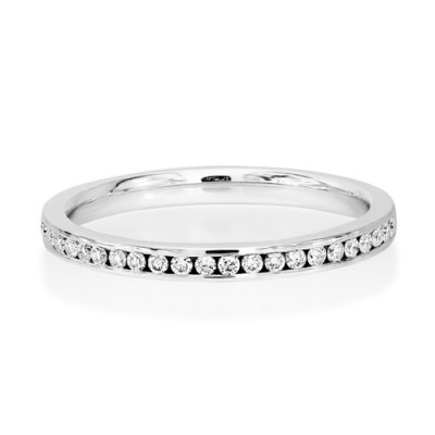 0.17ct. diamond ring set with diamond in eternity ring smallest Image