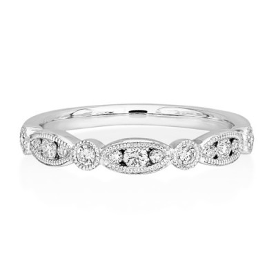 0.28ct. diamond ring set with diamond in eternity ring smallest Image