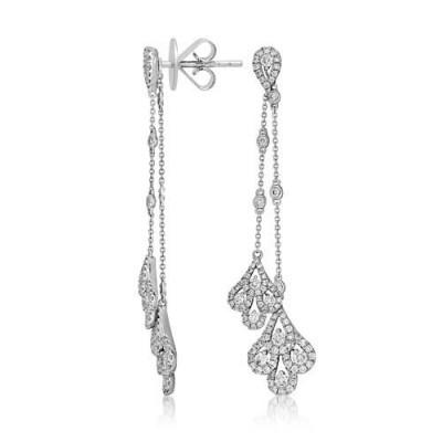 1.6ct. diamond earrings set with diamond in drop earrings smallest Image