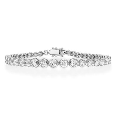 3.82ct. diamond bracelet set with diamond in tennis bracelet smallest Image