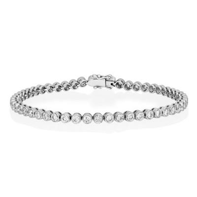 2.97ct. diamond bracelet set with diamond in tennis bracelet smallest Image