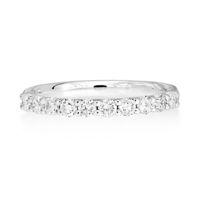 0.513ct. diamond ring set with diamond in eternity ring smallest Image