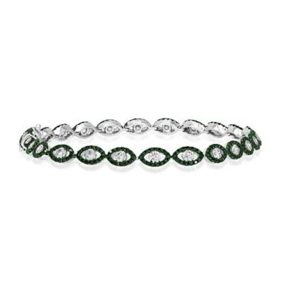 3.49ct. diamond bracelet set with diamond in cluster bracelet smallest Image