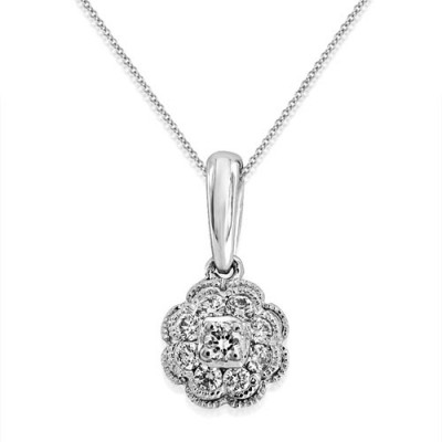 18Ct. Gold Diamond Pendant