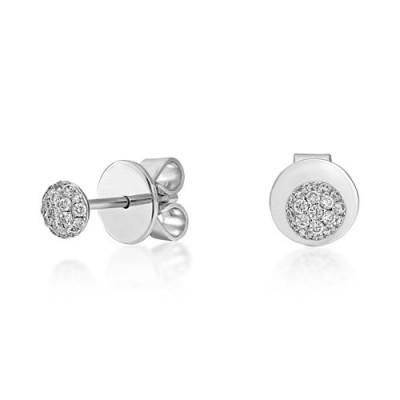 18Ct. Gold Diamond Earrings