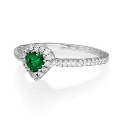 18Ct. Gold Emerald Ring
