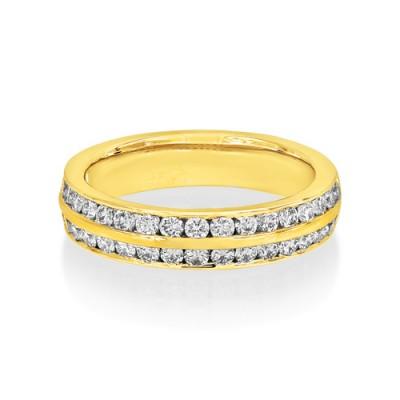 Nayum Diamond Ring in 18Ct. Yellow Gold