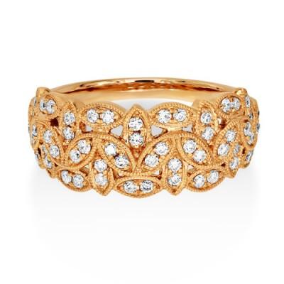 Nayum Diamond Ring in 18Ct. Rose Gold
