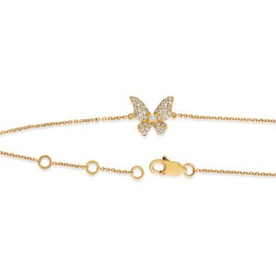 Nayum Diamond Bracelet in 18Ct. Rose Gold