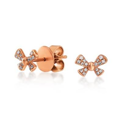 Nayum Diamond Earrings in 18Ct. Yellow Gold