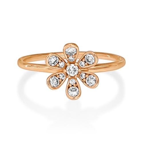 18Ct. Rose Gold Diamond Ring