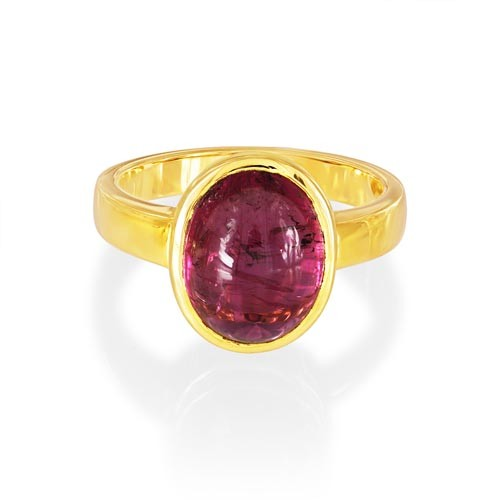 5.44ct. tourmaline ring set in solitaire ring smallest Image