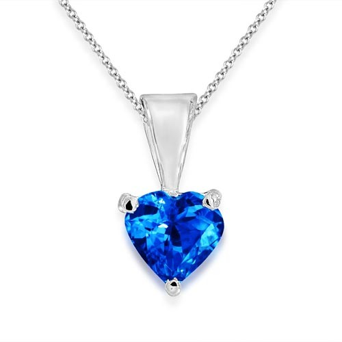 0.43ct. tanzanite pendant set in solitaire pendant smallest Image