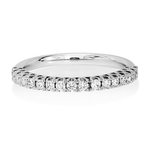 0.3ct. diamond ring set with diamond in eternity ring smallest Image