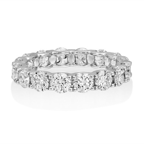 3.12ct. diamond ring set with diamond in full eternity ring smallest Image