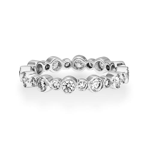0.85ct. diamond ring set with diamond in full eternity ring smallest Image