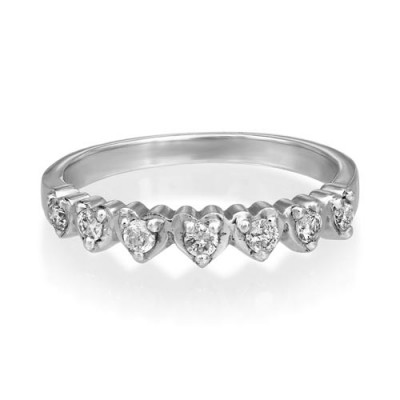 0.27ct. diamond ring set with diamond in eternity ring smallest Image