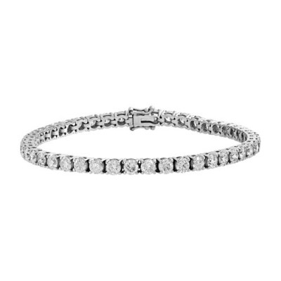 8.93ct. diamond bracelet set with diamond in tennis bracelet smallest Image