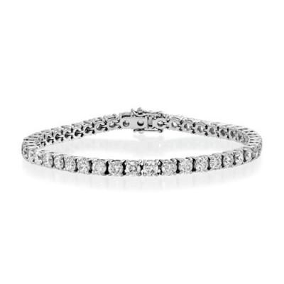 7.81ct. diamond bracelet set with diamond in tennis bracelet smallest Image