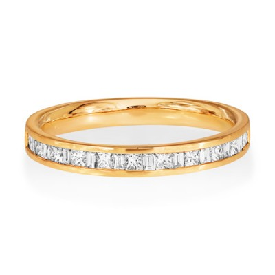 0.37ct. diamond ring set with diamond in eternity ring smallest Image