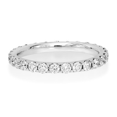 1.14ct. diamond ring set with diamond in full eternity ring smallest Image