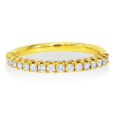 0.31ct. diamond ring set with diamond in eternity ring smallest Image
