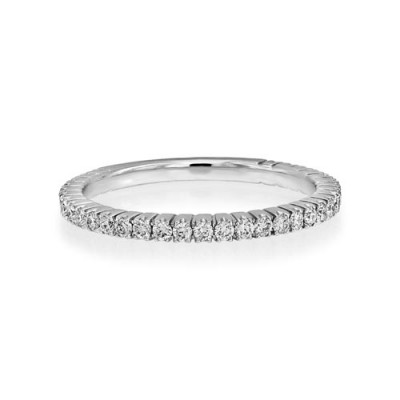 0.4ct. diamond ring set with diamond in eternity ring smallest Image