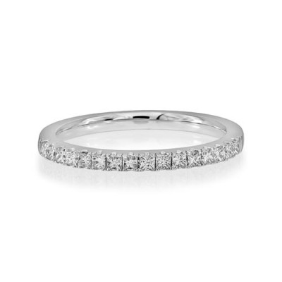 0.36ct. diamond ring set with diamond in eternity ring smallest Image