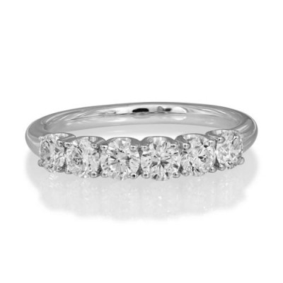 0.96ct. diamond ring set with diamond in eternity ring smallest Image