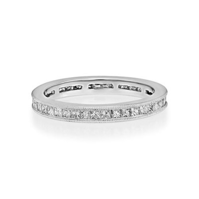 0.88ct. diamond ring set with diamond in full eternity ring smallest Image