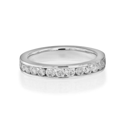 0.57ct. diamond ring set with diamond in eternity ring smallest Image