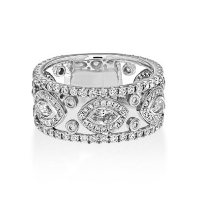 1.54ct. diamond ring set with diamond in full eternity ring smallest Image